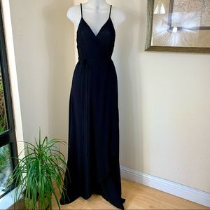 YOUNG FABULOUS & BROKE Maxi Dress Lorelei Wrap NEW